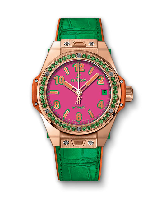 Hublot Big Bang One Click Pop Art King Gold Apple 465.OG.7398.LR.1222.POP16