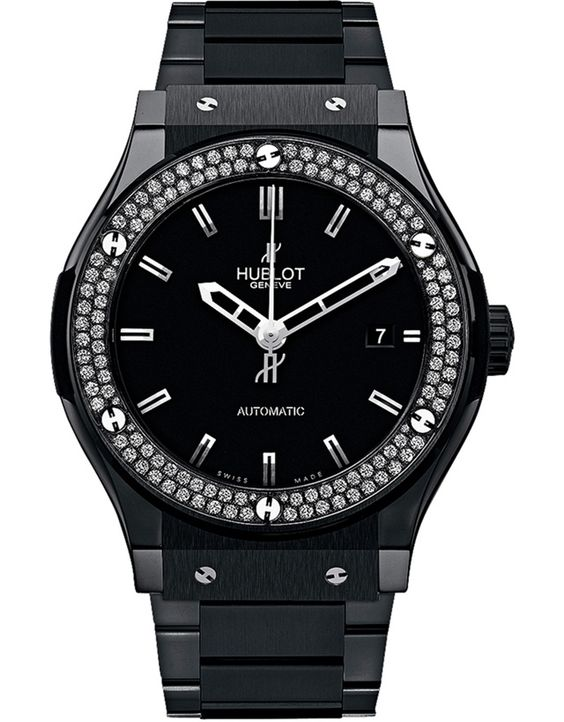 Hublot Classic Fusion Black Magic Diamonds 511.CM.1170.CM.1104