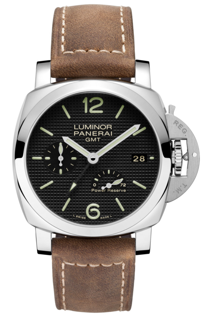 Panerai Luminor 1950 3 Days GMT Power Reserve Automatic Acciaio PAM00537