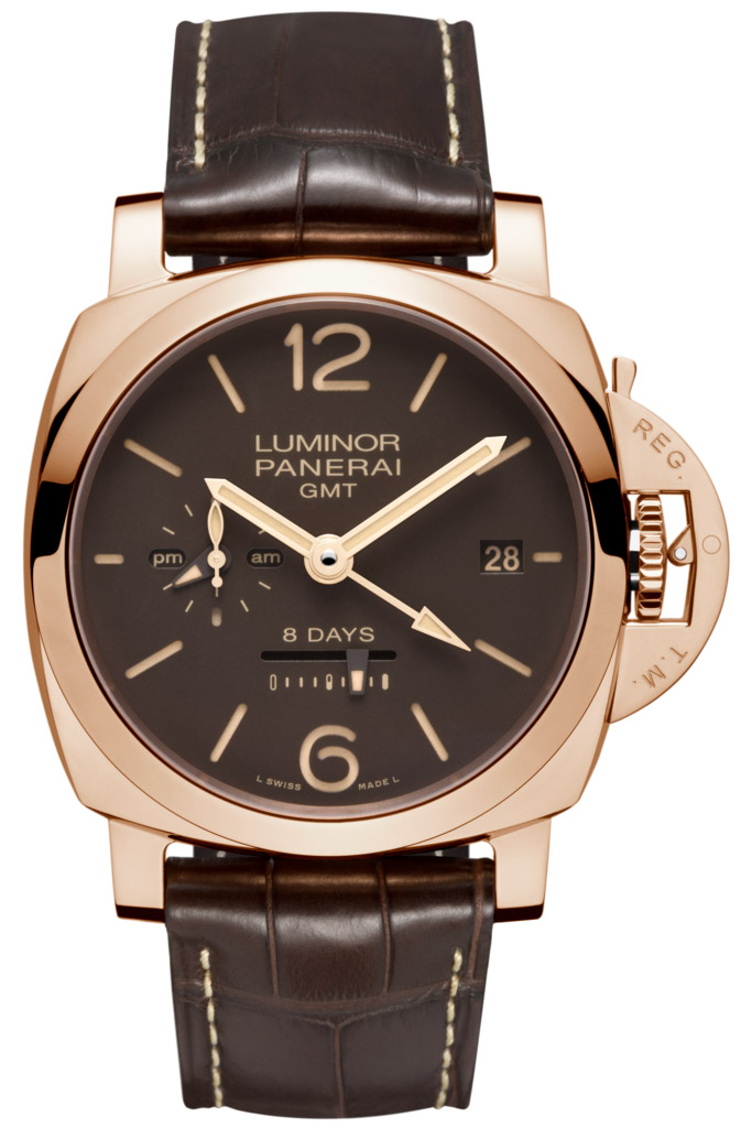 Panerai Luminor 1950 8 Days GMT Oro Rosso PAM00576