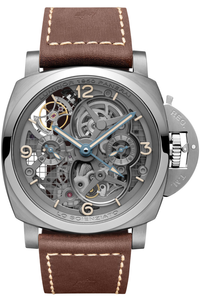 Panerai Luminor 1950 Tourbillon GMT Titanio PAM00578
