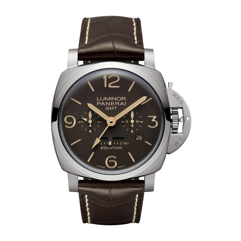 Panerai Luminor 1950 8 Days Titanium Men's Watch PAM00656