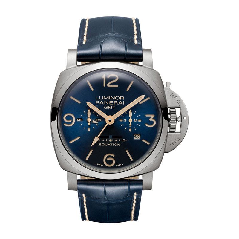 Panerai Luminor 1950 8 Days Titanium Men's Watch PAM00670