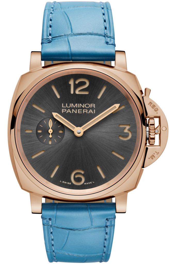 Panerai Luminor Due 3 Days Automatic rose gold replica watches for sale