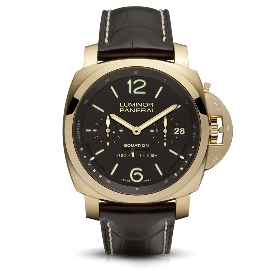 Panerai Luminor 1950 Tourbillon Equation of Time Oro Rosa - 50mm PAM36501