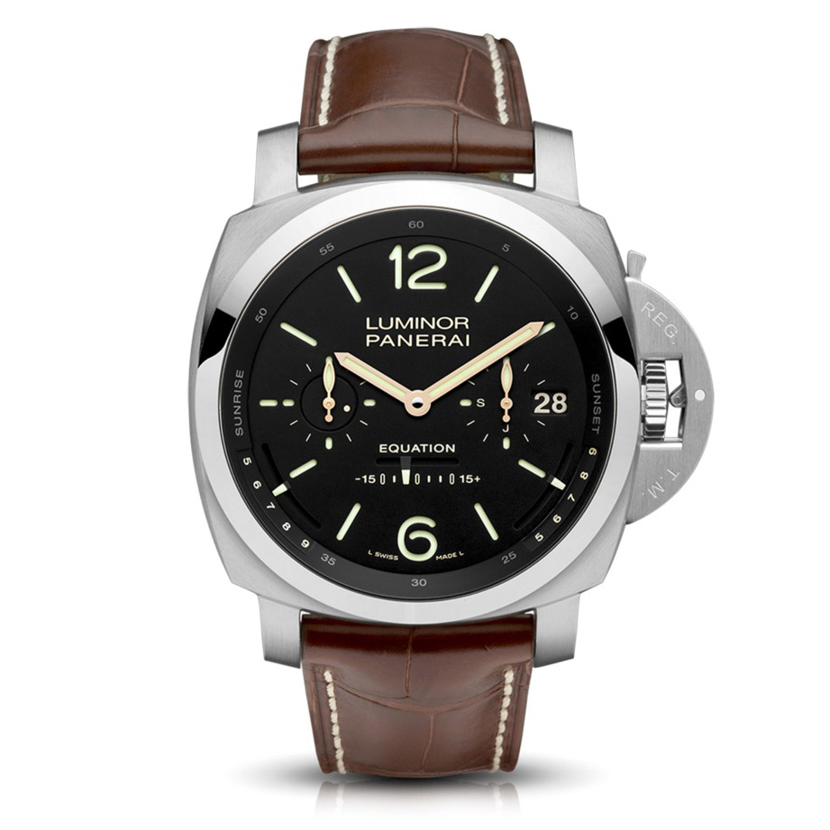 Panerai Luminor 1950 Tourbillon Equation of Time Oro Bianco PAM36502
