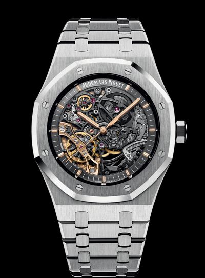 Audemars Piguet Royal Oak DOUBLE BALANCE WHEEL OPENWORKED 15407ST.OO.1220ST.01