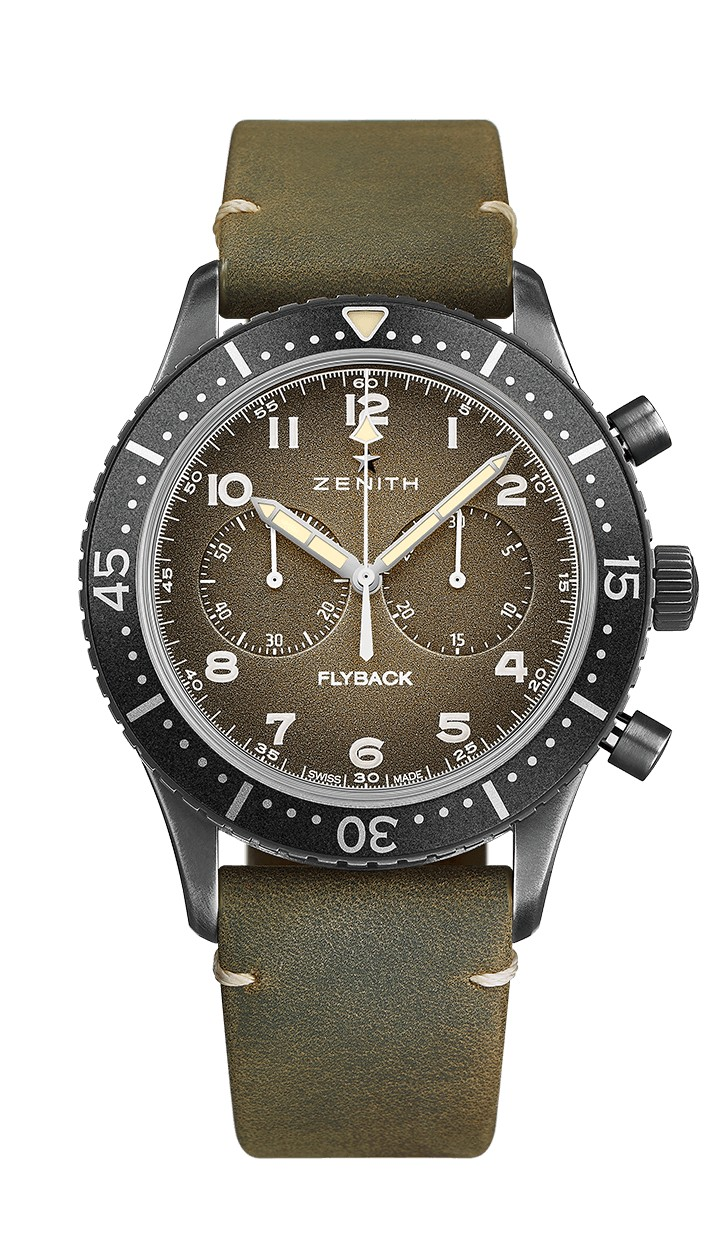 Zenith PILOT Cronometro Tipo CP-2 Flyback 43mm 11.2240.405/21.C773