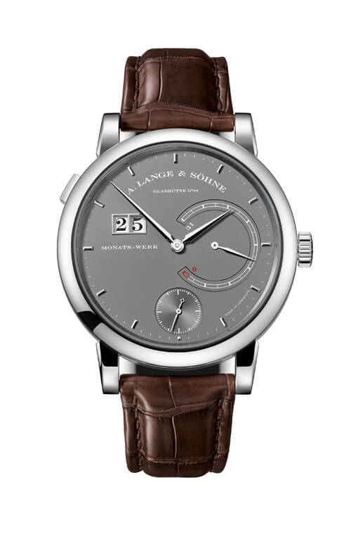 A. Lange & Sohne 130.039 Lange 31 White Gold/Grey Replica