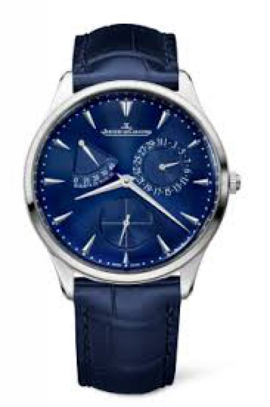 Jaeger LeCoultre Jaeger Le Coultre Master Ultra Thin Reserve de Marche Mens Watch Replica