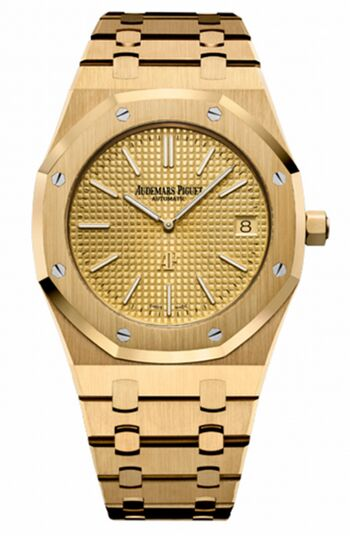 Audemars Piguet Royal Oak Extra-thin Gold Watch Replica