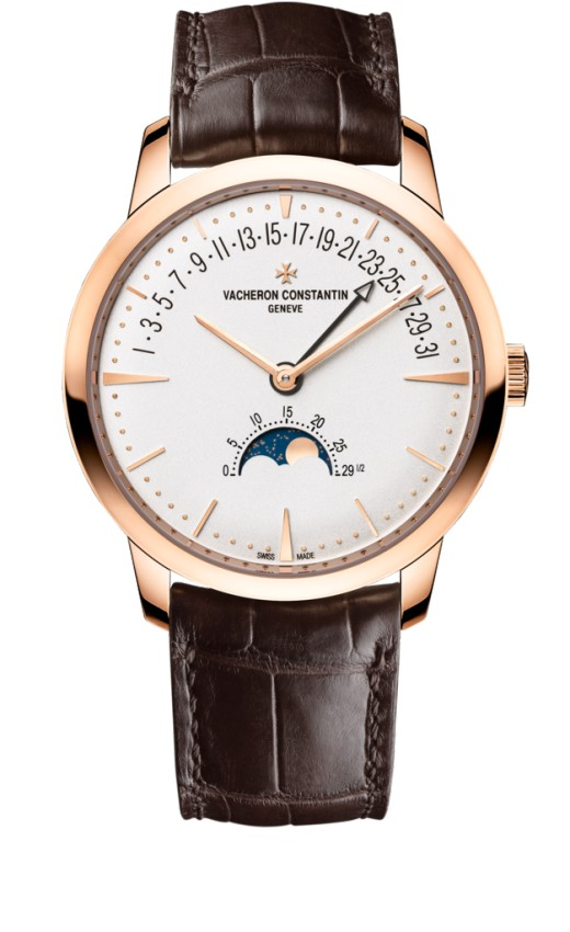 Vacheron Constantin Patrimony moon phase and retrograde date 4010U/000R-B329 Replica