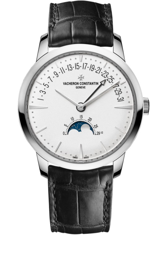 Vacheron Constantin Patrimony moon phase and retrograde date 4010U/000G-B330 Replica