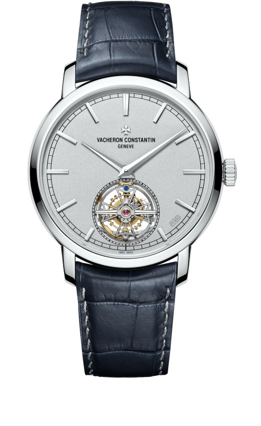 Vacheron Constantin Traditionnelle tourbillon Collection Excellence Platine 6000T/000P-B347 Replica
