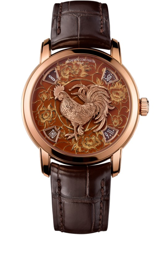 Vacheron Constantin Metiers dArt The legend of the Chinese zodiac Year of the rooster 86073/000R-B153 Replica