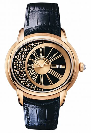 Audemars Piguet Millenary Morita Rose Gold Watch Replica - Click Image to Close