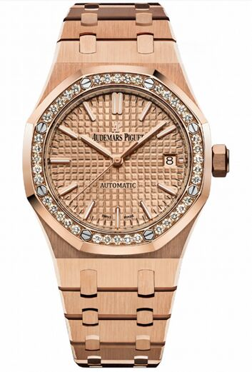 Audemars Piguet Royal Oak Selfwinding Rose Gold Watch Replica