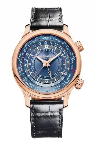 Chopard L.U.C Time Traveler One 18-Carat Rose Gold Limited Edition Replica