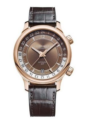 Chopard L.U.C GMT ONE 18K Rose Gold Mens Watch Replica