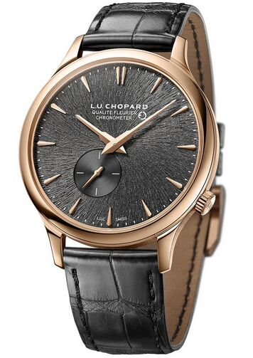 Chopard L.U.C XPS Twist 18K Rose Gold Mens Watch Replica