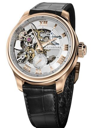 Chopard L.U.C Full Strike 18K Rose Gold Mens Watch Replica