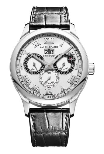 Chopard L.U.C Perpetual Twin Stainless Steel Watch Replica