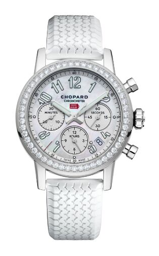 Chopard Mille Miglia Classic Chronograph diamond-set Stainless Steel Watch Replica