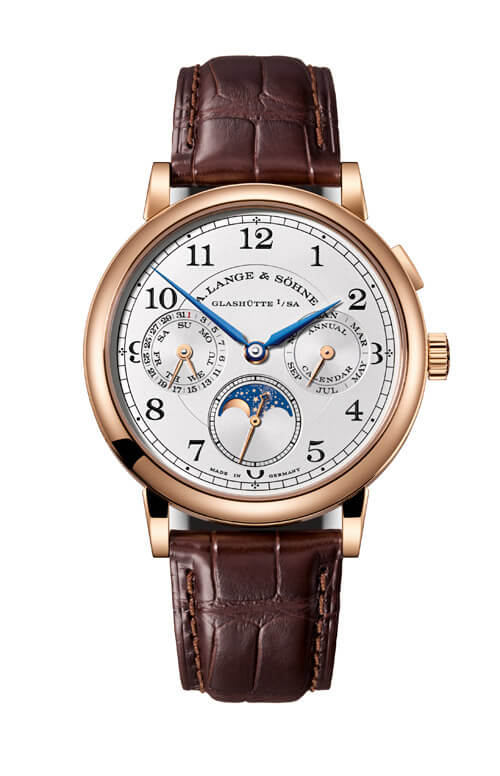A. Lange & Sohne 238.032 1815 Annual Calendar Pink Gold/Silver Replica - Click Image to Close