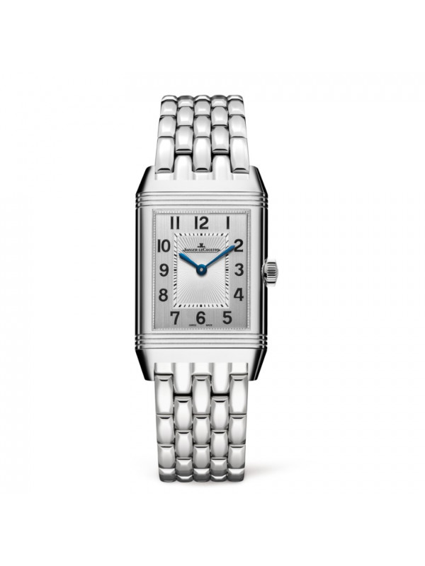 Jaeger LeCoultre Reverso Classic Mens Steel Hand Wound Watch Replica