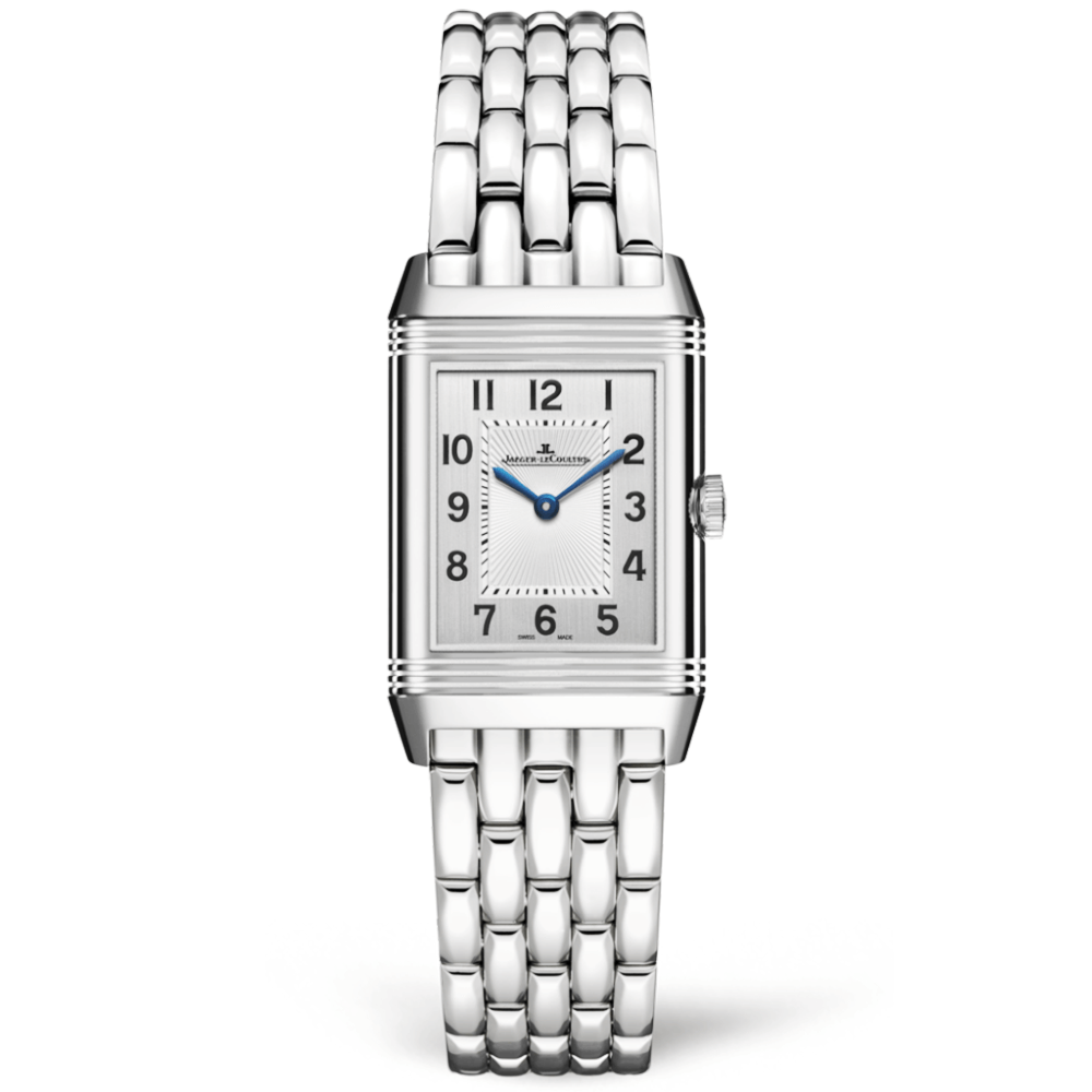 Jaeger-LeCoultre 2608130 Reverso Classic Small Stainless Steel/Silver/Bracelet Replica