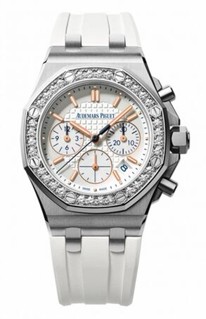 Audemars Piguet Royal Oak Offshore Chronograph Summer Edition 2017 Stainless Steel & Diamonds Watch Replica