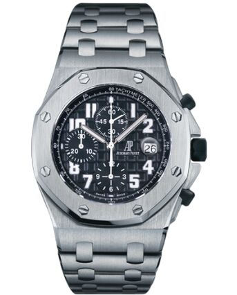 Audemars Piguet Royal Oak OffShore Chronograph Titanium Black Watch Replica