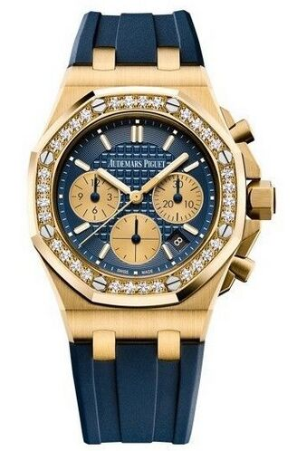 Audemars Piguet Royal Oak Offshore Chronograph Yellow Gold Limited Edition Watch Replica