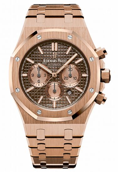 Audemars Piguet Royal Oak Chronograph Rose Gold Watch Replica