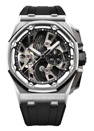 Audemars Piguet Royal Oak Offshore Tourbillon Chronograph Stainless Steel Watch Replica