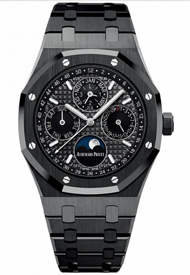 Audemars Piguet Royal Oak Perpetual Calendar Ceramic Watch Replica