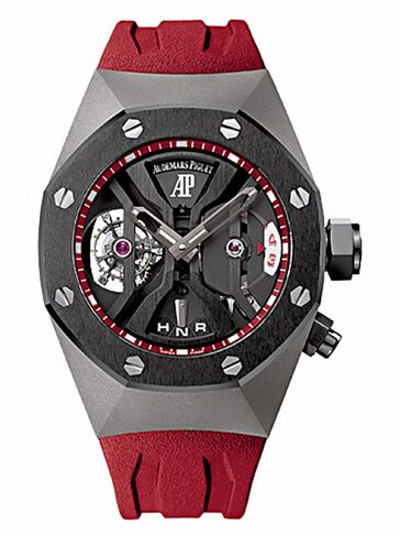 Audemars Piguet Royal Oak Concept GMT Tourbillon Titanium Watch Replica