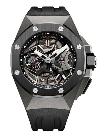 Audemars Piguet Royal Oak Concept Flying Tourbillon GMT Titanium Watch Replica