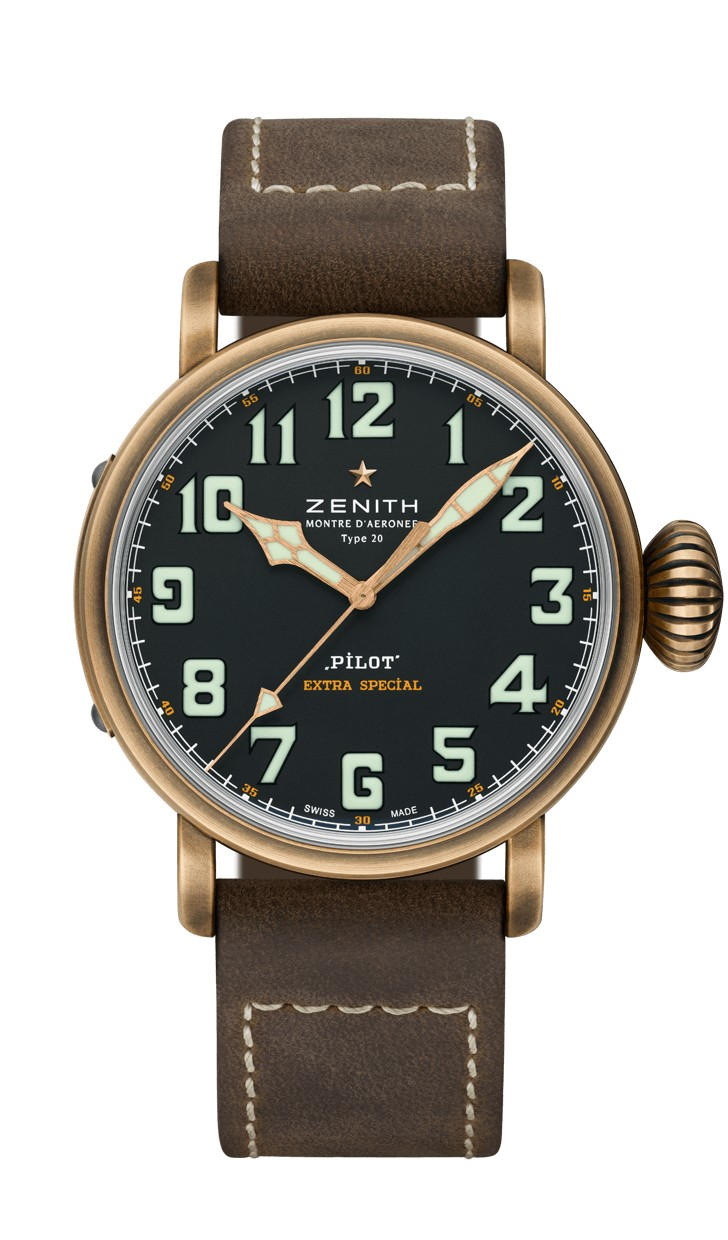 Zenith Pilot Type 20 Extra Special Bronze for men 29.2430.679/21.C753