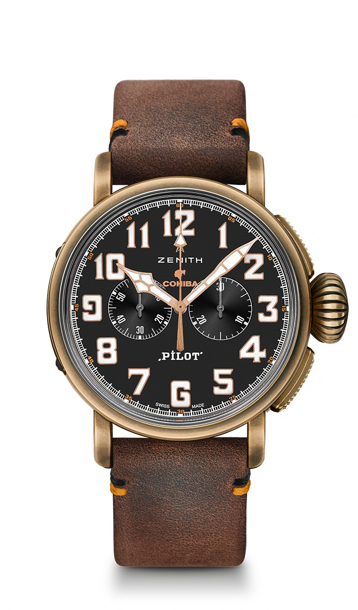 Zenith PILOT Type 20 Chronograph Cohiba Edition 45mm 29.2432.4069/27.C794