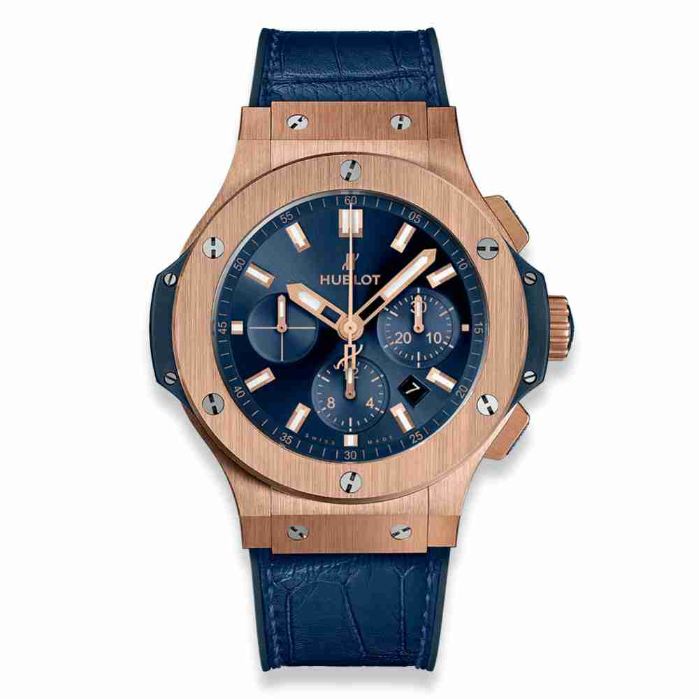 Hublot Big Bang Gold Blue 44mm Replica