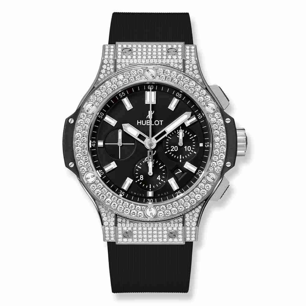 Hublot Big Bang Steel Pavé 44mm Replica