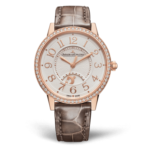 Jaeger-LeCoultre 3442440 Rendez-Vous Night & Day Medium Pink Gold/Diamond/Silver Replica