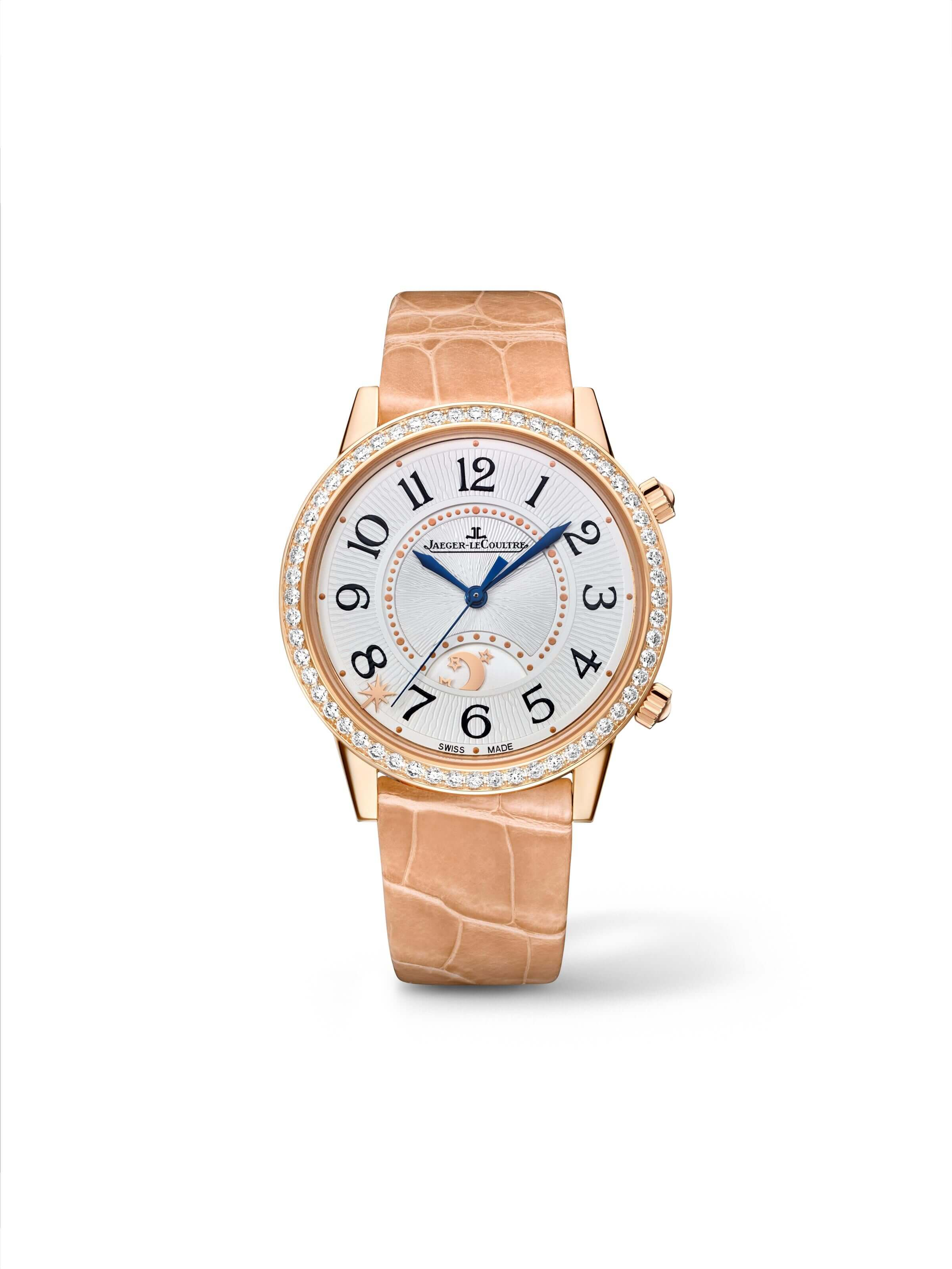 Jaeger-LeCoultre 3592420 Rendez-Vous Sonatina Large Pink Gold/Diamond/Silver Replica