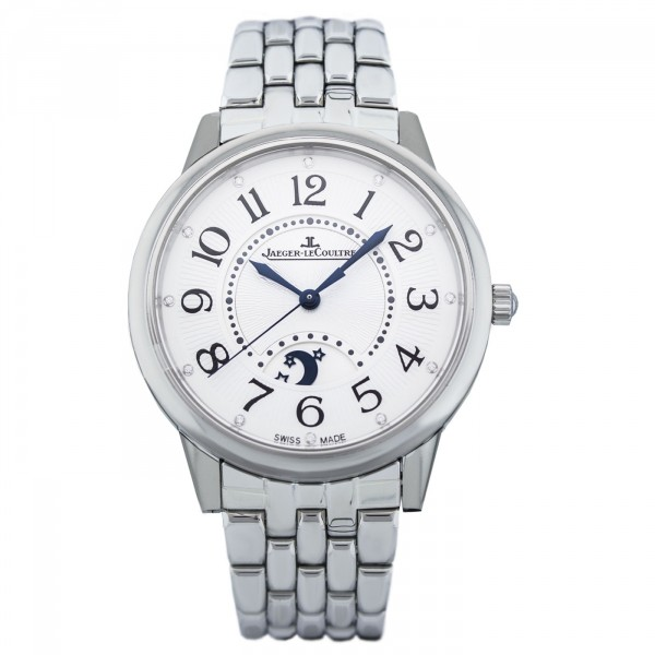 Jaeger-LeCoultre 3618190 Rendez-Vous Moon Large Stainless Steel/Diamond/Silver/Bracelet Replica