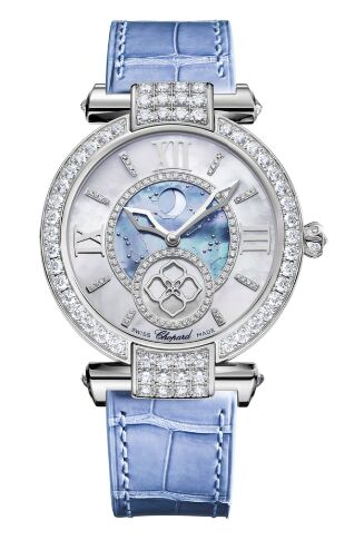 Chopard Imperiale Moonphase 18k White Gold Watch Replica