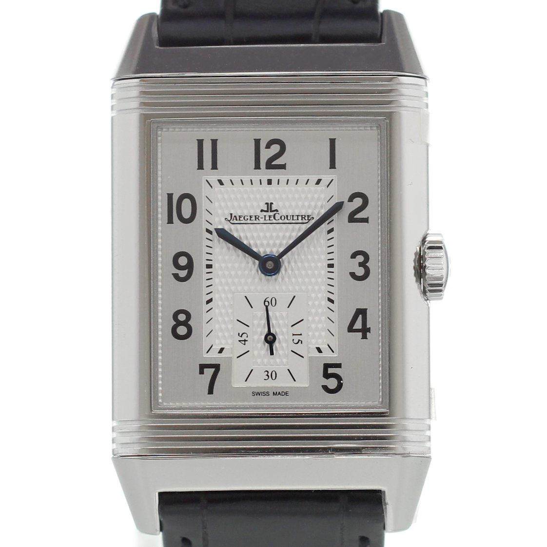 Jaeger LeCoultre Reverso Classic Duoface Mens Hand Wound Watch Replica