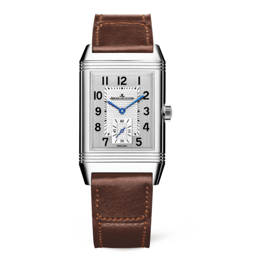 Jaeger-LeCoultre 3848422 Reverso Classic Large Duoface Small Seconds Stainless Steel/Silver/Fagliano Replica