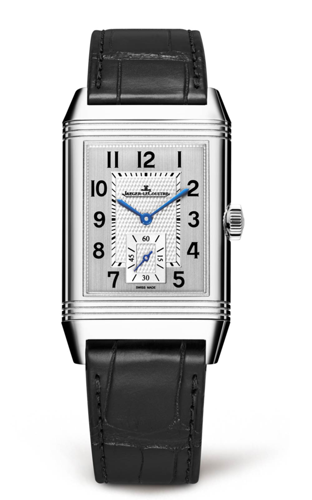 Jaeger LeCoultre Reverso Classic Large Silver Dial Hand Wound Mens Watch Replica