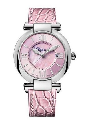 Chopard Imperiale La Vie En Rose Stainless Steel & Amethyst Ladies Watch Replica